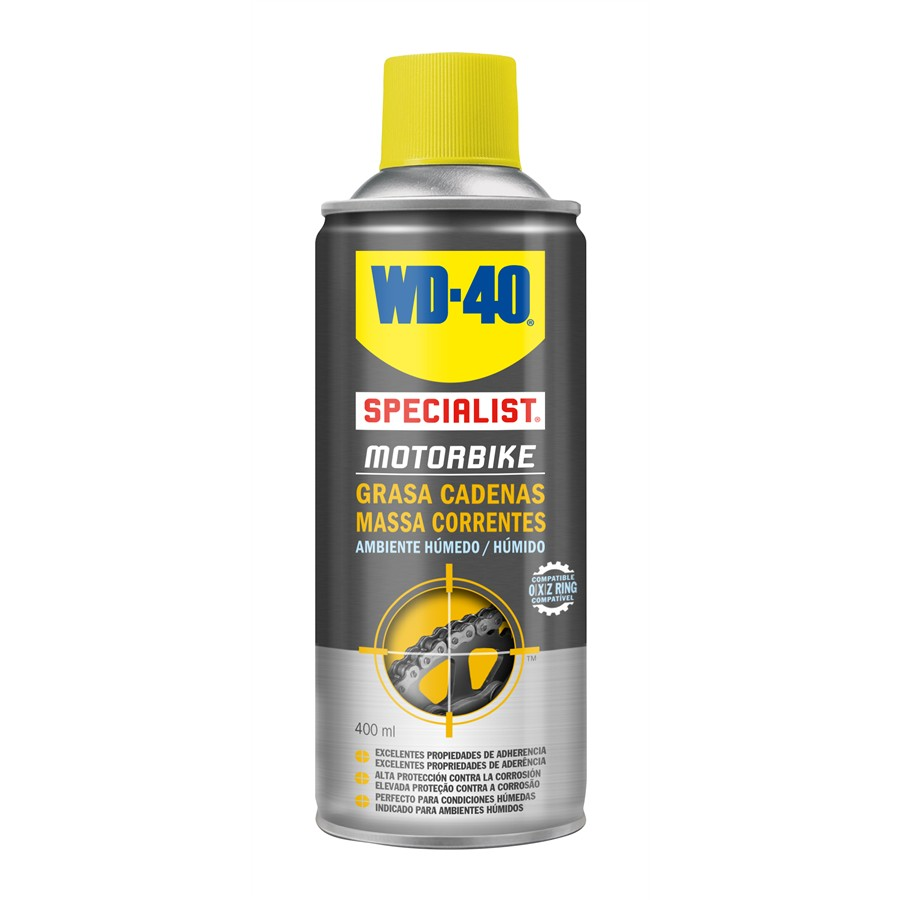 Massa de corrente moto WD-40 400 ml