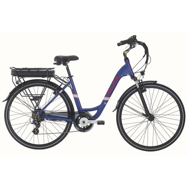 Bicicleta Eléctrica Wayscral Everyway E200 28 Azul (bateria Incluída)