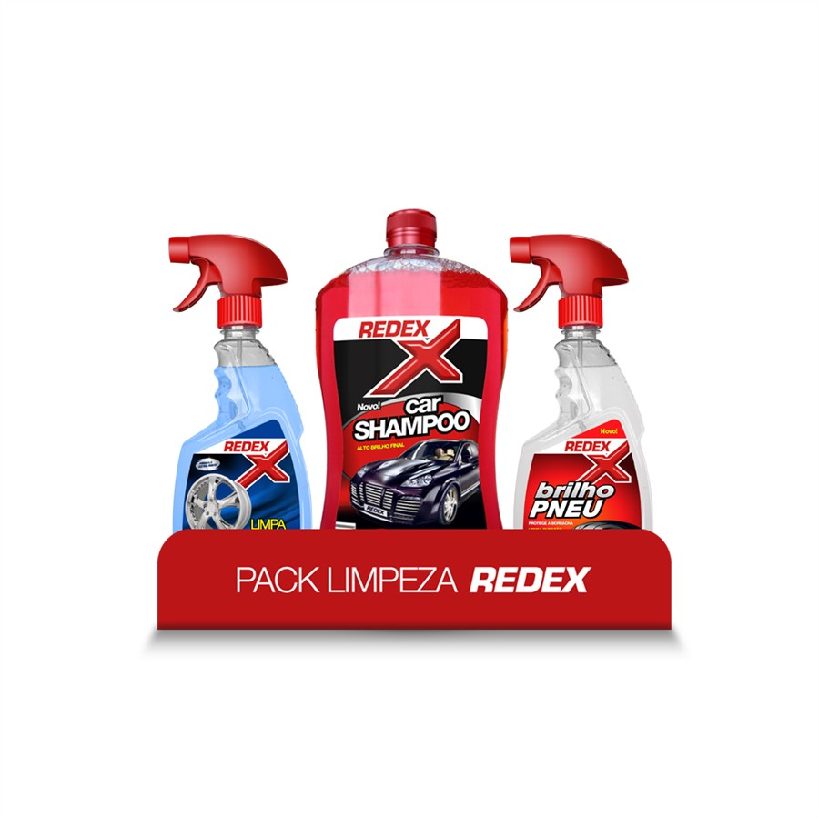 Pack limpeza exterior 500ML Redex