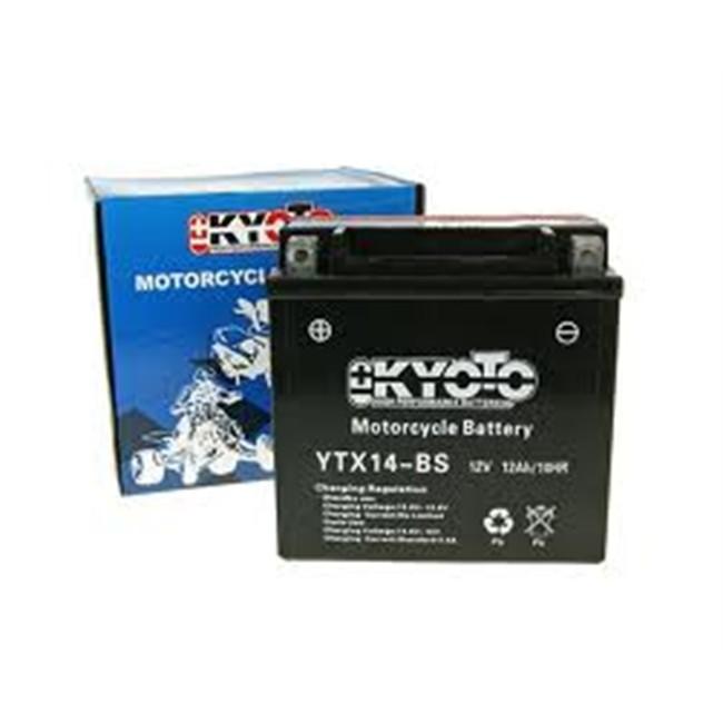 bateria de moto kyoto ytx14bs. Black Bedroom Furniture Sets. Home Design Ideas