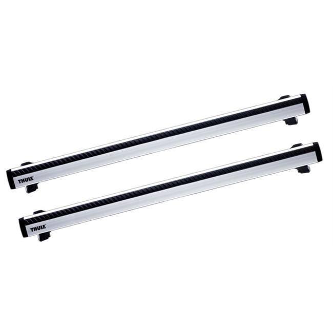 2 barras thule wingbar 961 em aluminio. Black Bedroom Furniture Sets. Home Design Ideas